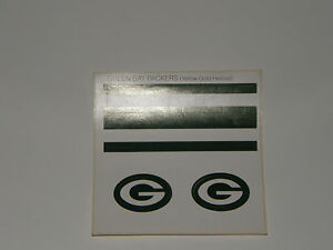 Vintage Green Bay Packers Baskin Robbins Laich Helmet Stickers Replacement NOS