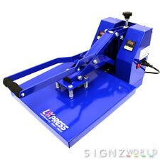 3838 CLAM HIGH Pressure Heat Press Machine HP3804 Sublimation TShirt Printing