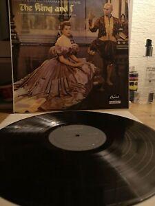 The King And l Soundtrack Vinyl LP 1956 UK Mono Album Capitol LCT 6108 EX EX