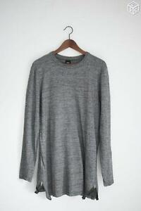 Haut-sweat-pull-long-homme-ASOS-MENSWEAR-taille-M