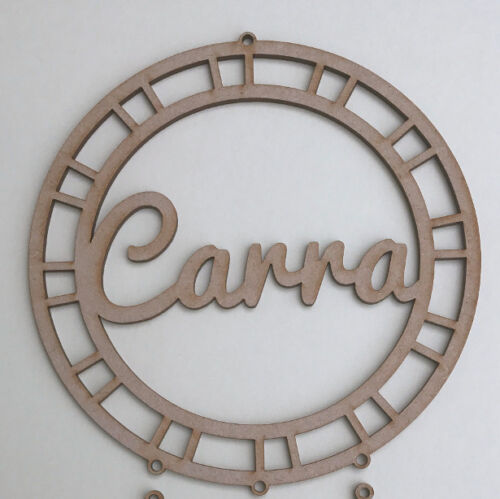 MDF Wood Dream Catcher Make Your Own Dreamcatcher Wooden ADD YOUR NAME D3