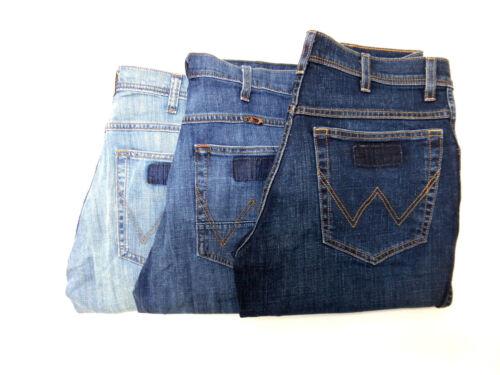Da Uomo Ex Wrangler Arizona Jeans Stretch leggero RRP £ 75 WA46 secondi