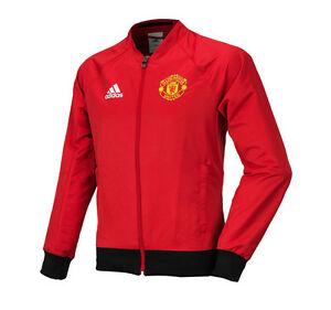 Amicable Adidas Manchester United Anthem Woven Jacket Training Top Ai5401 Soccer Football Be Shrewd In Money Matters Activewear Tops