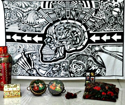 Gothic Skull Tapestry Wall hanging
