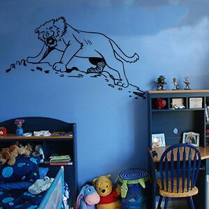 Autocollant Mural Enfants Dinosaures Art Chambre Enfants Garçons Filles Décoration Fun Ki46-afficher Le Titre D'origine