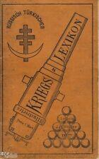Russisch Türkisches Illustrirtes Kriegs Lexikon Krieg Russland Türkei 1877