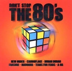 Don-039-t-stop-the-80-039-s-Warner-2001-Mimetico-New-Order-Duran-Duran-CD-DOPPIO