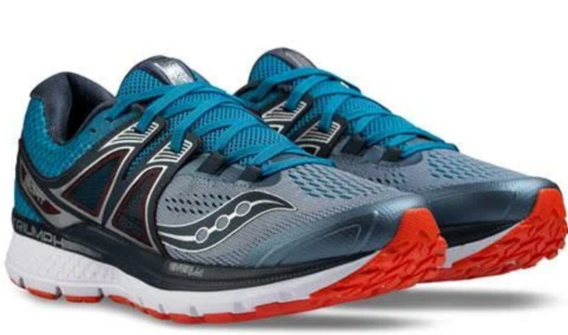 086346a2 Saucony Triumph ISO 3 Men's Running Shoes Grey/blue/red Size 12 M