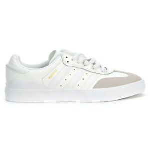 Adidas Men's Originals Busenitz Vulc RX Crystal White/Gold Metallic Shoes B22...