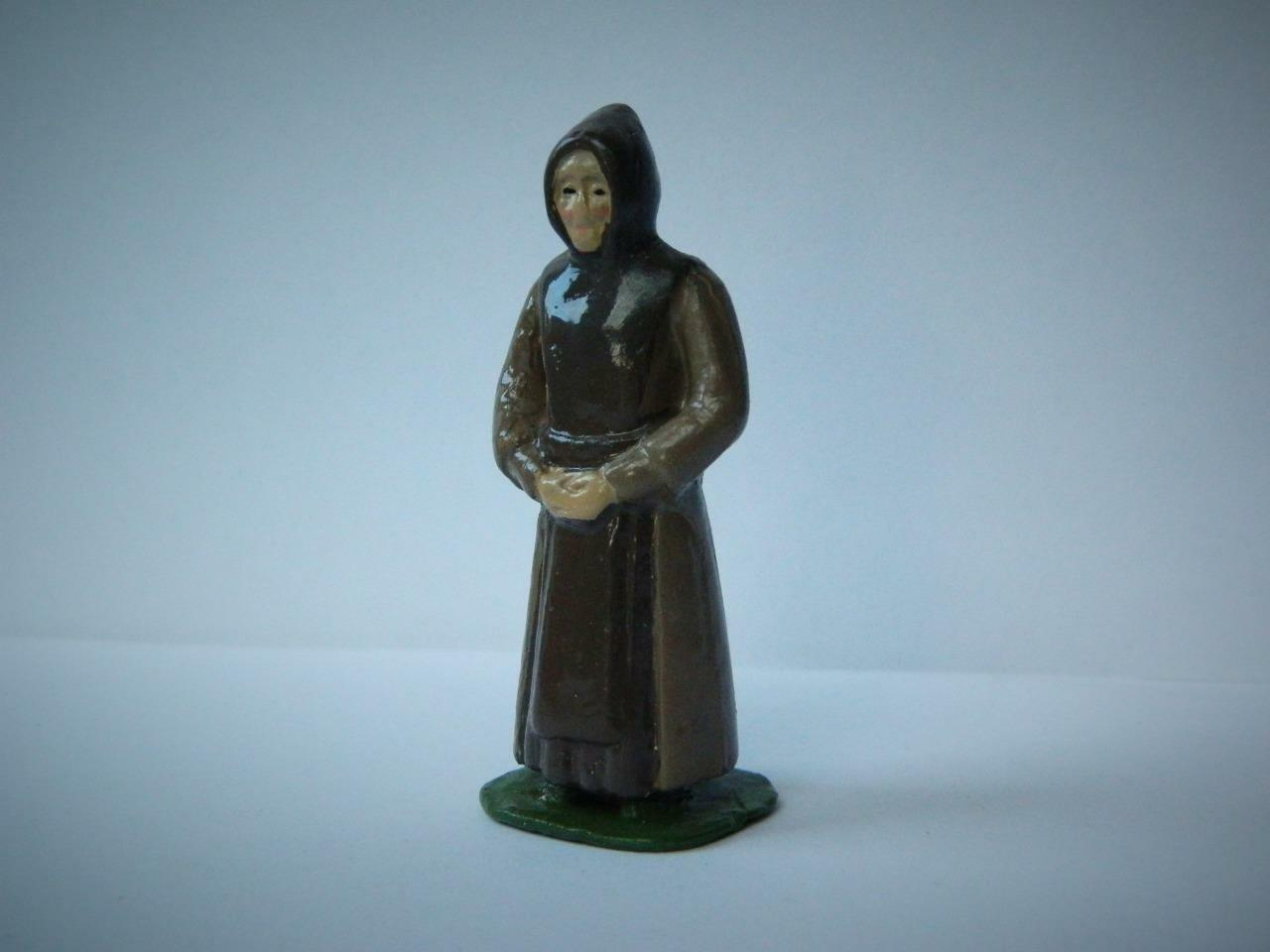 TIMPO EIRE FROM PIXYLAND   KEW MOULD LEAD LINDISFARNE MONK 1956 RELIGIOUS FIGURE