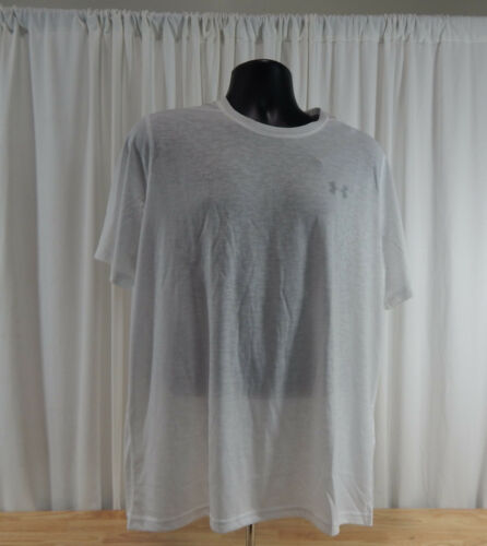 NWT Mens Under Armour Threadborne HeatGear Loose Fit Tee Shirt LG XXL