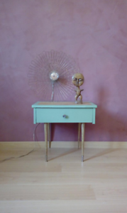 Table de chevet vintage années 60