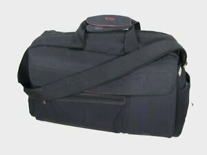 TUMI-Black-Large-20-034-Deluxe-Duffle-Travel-Shoulder-Bag-Carry-On-Retired