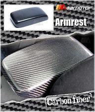 Replacement Carbon Fiber Interior Armrest Lid Cover for Mitsubishi EVO 7 8 & 9