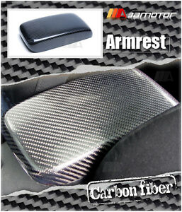 Details about Replacement Carbon Fibre Interior Armrest Lid Cover for  Mitsubishi EVO 7 8 & 9