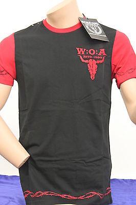 """Original Wacken T-Shirt  """" W:O:A  ESTD 1990 """" , Gr.S - XXXL , Neuware!!"""