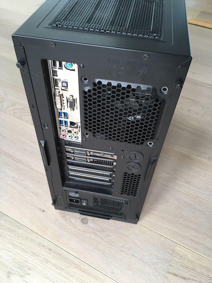 Selvbyg, Intel Core i7 4770 Ghz Ghz, 16 GB ram