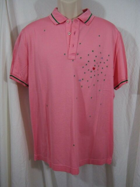 84f1fff9 Frequently bought together. MOSCHINO Men's Polo Hearts and Alphabet Embroidered  Polo