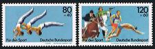 Germany B609-B610, MNH. Sport. Gymnastics festival, Modern Pentathlon, 1983