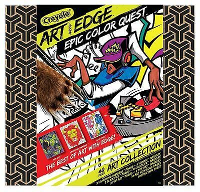 Crayola Art with Edge, Coloring Set, Adult Coloring, Gift ...