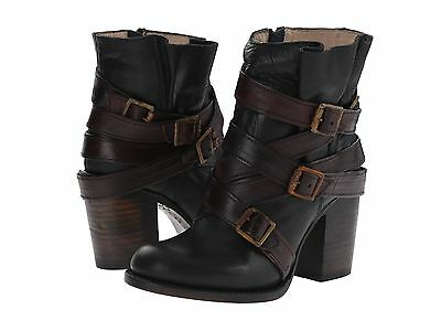 $275 FREEBIRD BY STEVEN 'HUSTLE' LEATHER STRAPPY BOOT SZ 7M FREE PEOPLE