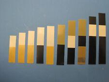 Akkordeon-Ventile 1000 Stück ohne Lochung   - Lagerräumung