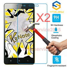 2Pcs 9H Premium Tempered Glass Film Screen Protector For Lenovo K3 NOTE / A7000