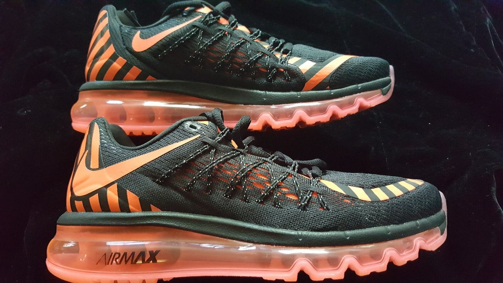 NIKE WOMENS AIR MAX 2015 ANNIVERSARY BLACK PINK  SIZE 7