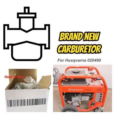 Carburetor Carb For Husqvarna 020490 Pressure Washer 3100 PSI 2.8GPM PW3100