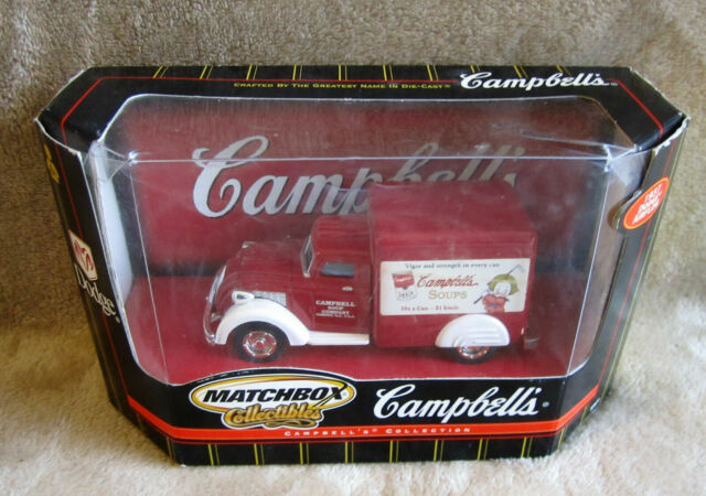 Matchbox Collectibles Campbell's 1937 Dodge Airflow 4 5