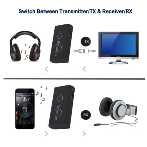 2in1 Wireless Bluetooth Stereo Audio Adapter Bluetooth Transmitter and Receiver