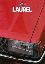 Prospekt Datsun Laurel 1981 Autoprospekt 5 81 Auto Pkw Asien Japan brochure