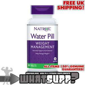 NATROL-Water-Pill-x60-tablets-Naturally-supports-fluid-balance-WEIGHT-MANAGEMENT