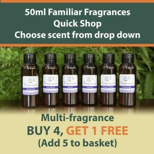 50ML-FRAGRANCE-OIL-FAMOUS-DUPE-SCENT-CANDLE-amp-SOAP-BATH-BOMB-BUY-4-GET-1-FREE