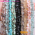 """Wholesale 5-8mm Freeform Gemstone Chips Beads For Jewelery Making 34"""""""