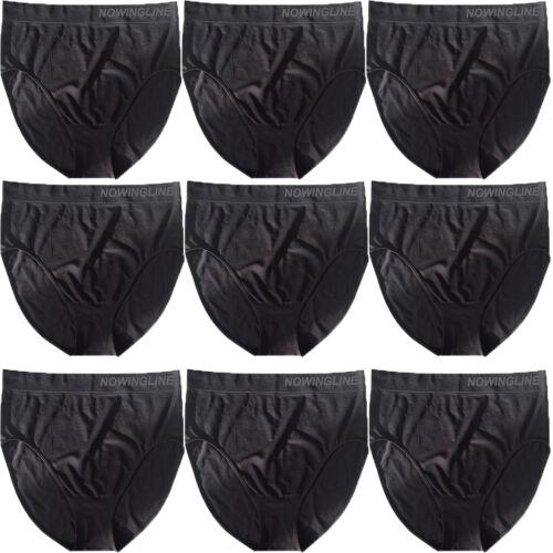 5 schwarze Damen Slips Größe 38-64 Slip Unterwäsche Übergröße 54 56 58 60 62 64