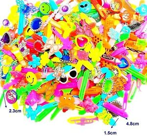 99-pc-MIXED-Plastic-Hair-Clip-Girls-Jewelry-Birthday-Party-Favors-Pinata-toys