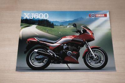 194309 Automobilia Yamaha Sr 500 Prospekt 01/1988 Auto & Motorrad: Teile