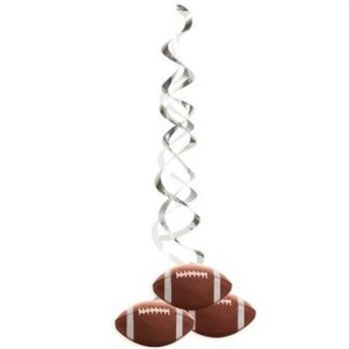 Football Printed Deluxe Hanging Danglers 2 Pack Birthday Party Decorations