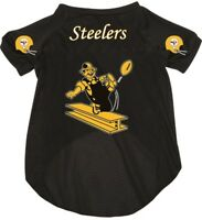 Pittsburgh Steelers Pet Dog Football Jersey Throwback Retro All Sizes