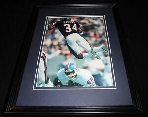 Walter-Payton-DIVE-Framed-11x14-Photo-Display-Bears-vs-Broncos