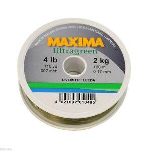 Maxima Ultra Clear vrac mono ligne de pêche