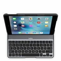 Belkin Qode Ultimate Lite Keyboard Case Protective Cas For Ipad Air 2 Black