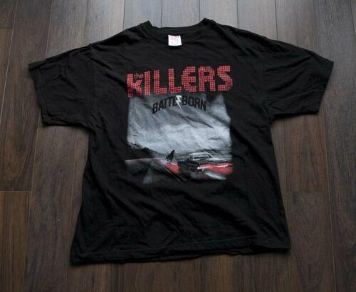 *** The Killers T Shirt Battle Born 2014 Tour size
