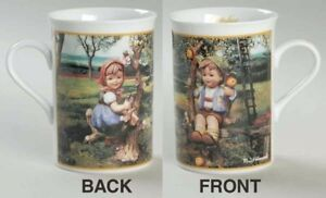 M-I-Hummel-Fine-Porcelain-Collector-Mug-October-Apple-Tree-Boy-No-Box
