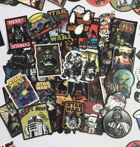 Random 50pc Star Wars Movie PS4 XBOX Phone Laptop Notebook Decal Sticker Pack
