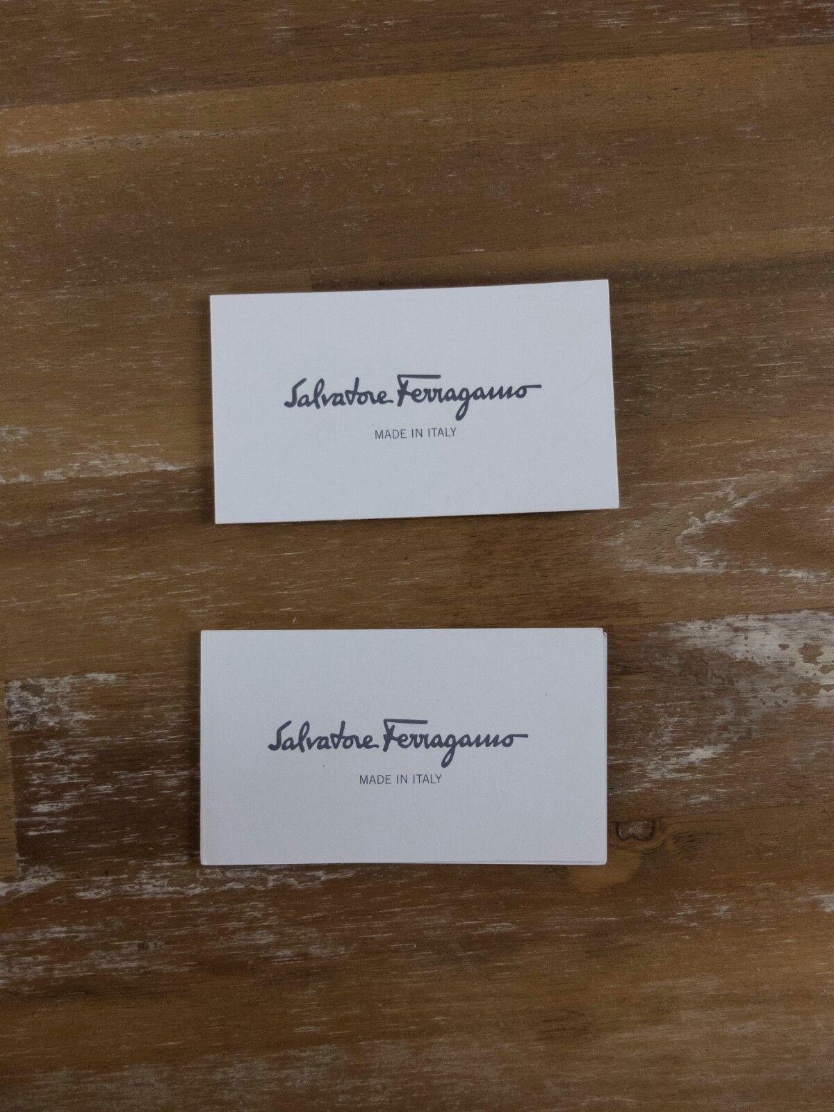 SALVATORE FERRAGAMO Madea leather platform sandals Size UK 10 US / 7.5 UK Size / 40.5 EU 3561d6