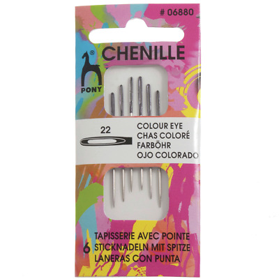 Bundle: Sizes 20 22 /& 24 Tapestry Needles 6 needles each pack