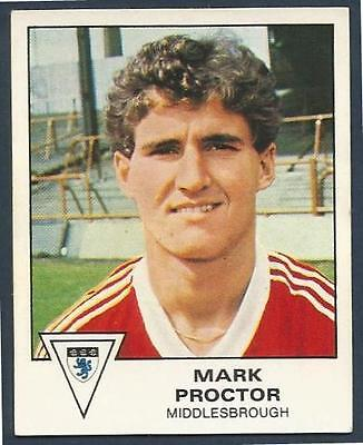PANINI FOOTBALL 80 #248-MIDDLESBROUGH-MARK PROCTOR