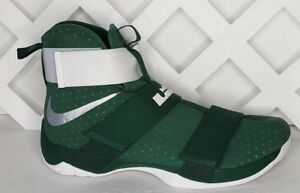 89316595f6ab Nike Lebron James Soldier Mens Spartan Green White 856489-331 Size ...